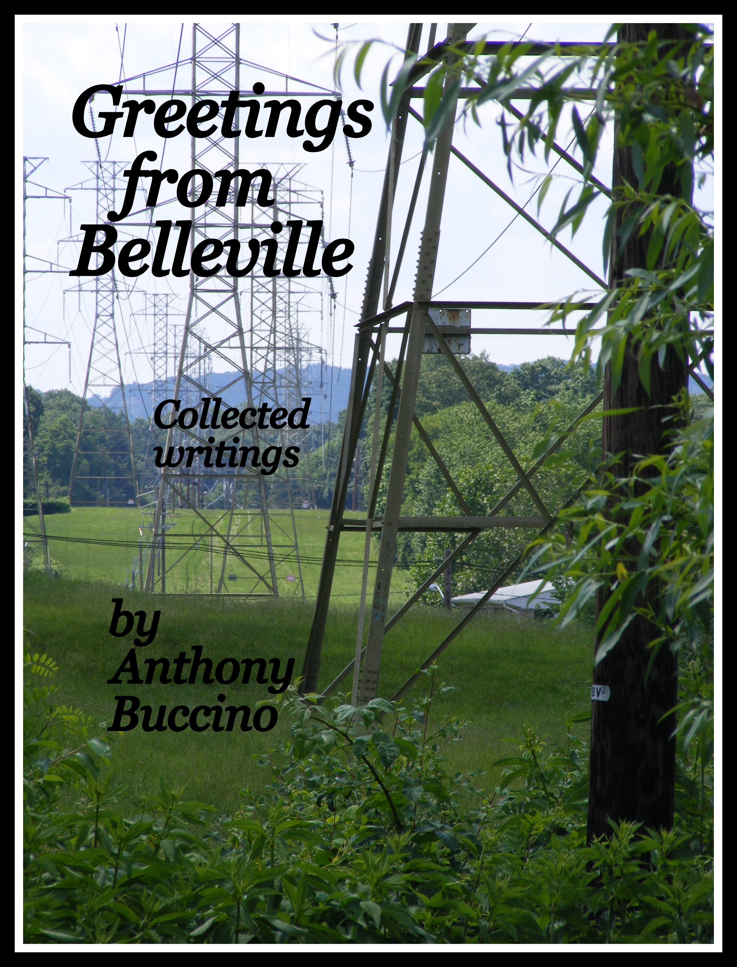 Greetings From Belleville, N.J. - Collected writings by Anthony Buccino