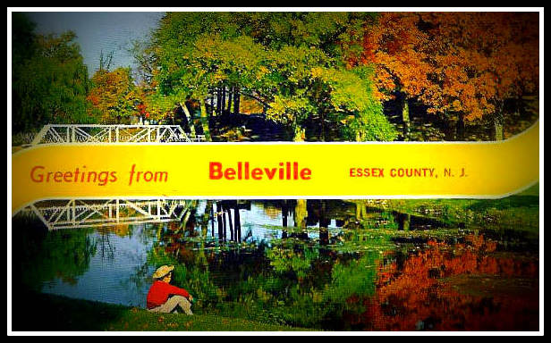 Souvenir post card: Belleville, New Jersey