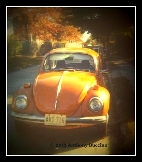 VW Beetle, 1973, bought used, Anthony Buccino