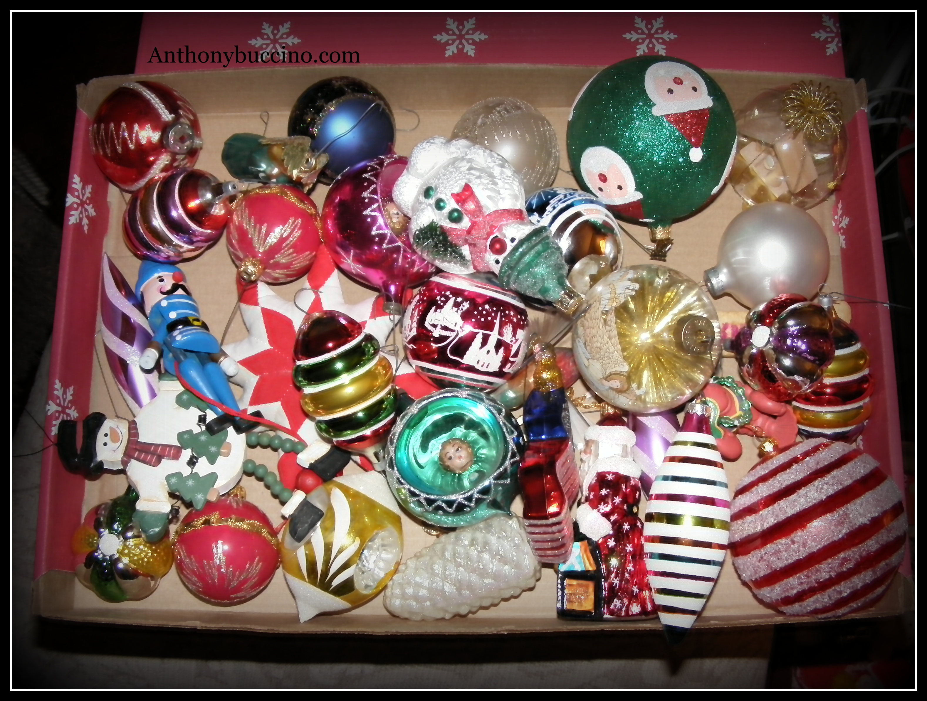 Christmas Tree Ornaments, to hang or not to hang - by Anthony Buccino Copyright © 2009