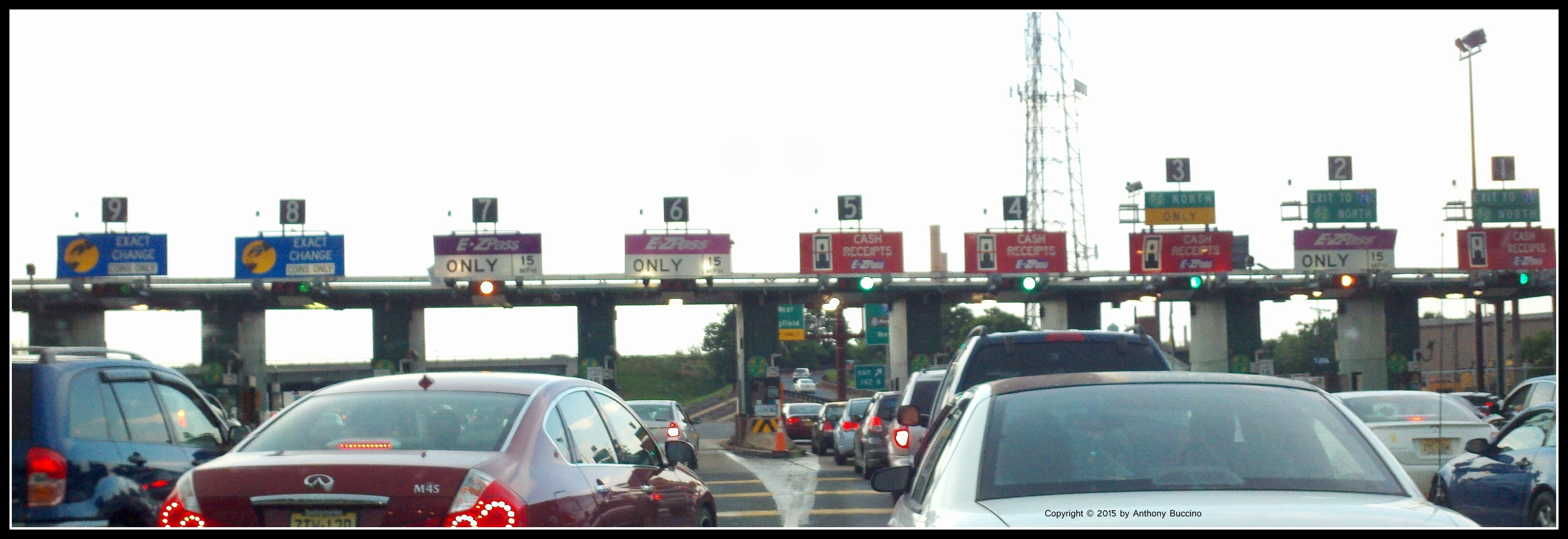 Garden State Parkway Tokens Pay Tolls To Hell