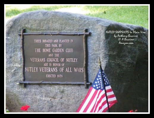 Memorial to Nutley Veterans of All Wars - by Anthony Buccino