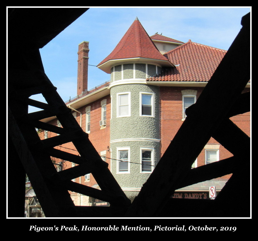 Pigeon's Peak, Honorable Mention, Pictorial, October, 2019